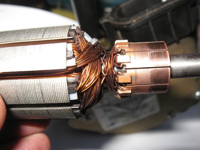 Ремонт ротора электродвигателя своими руками